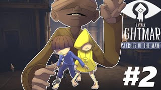 FUGINDO DO ZELADOR | Little Nightmares Secrets Of The Maw