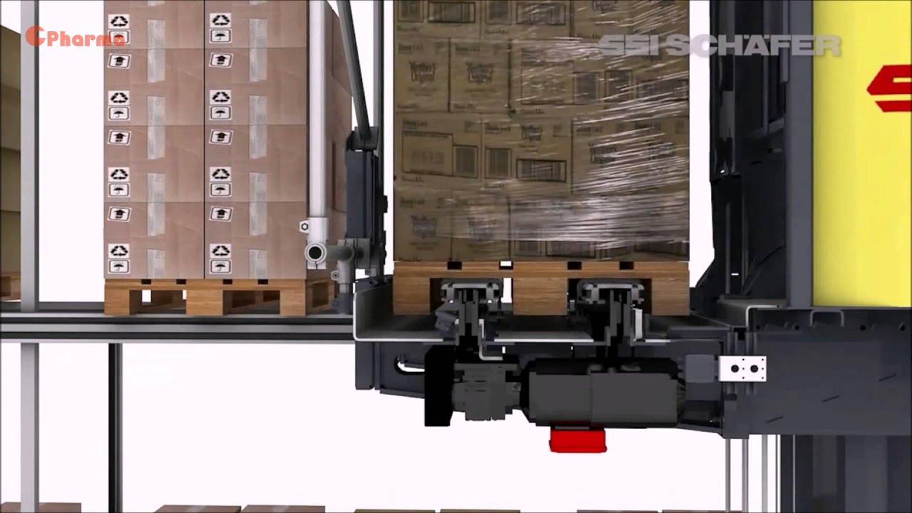 Thực hành tốt bảo quản thuốc - Good Storage Practices - Hệ thống nhà kho tự động