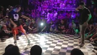 Skunk vs Keebz - Footwork Finals Outbreak Hiphop Festival 10 Year Anniversary