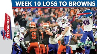 Breaking Down the Buffalo Bills' Loss to the Cleveland Browns