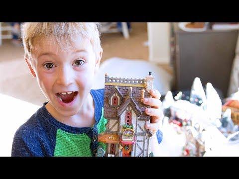 Ballinger Christmas Village Surprise!