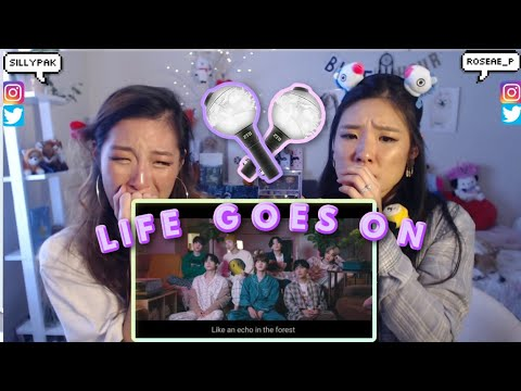 BTS (방탄소년단) 'Life Goes On' Official MV 💜 SISTERS REACTION