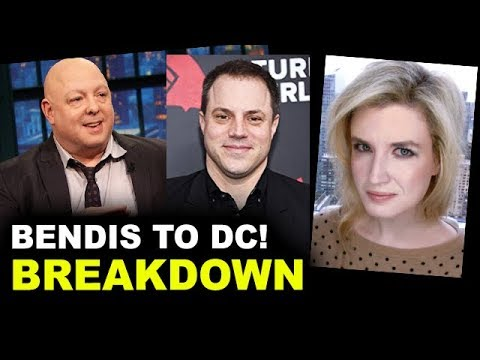Brian Michael Bendis leaves Marvel for DC Comics