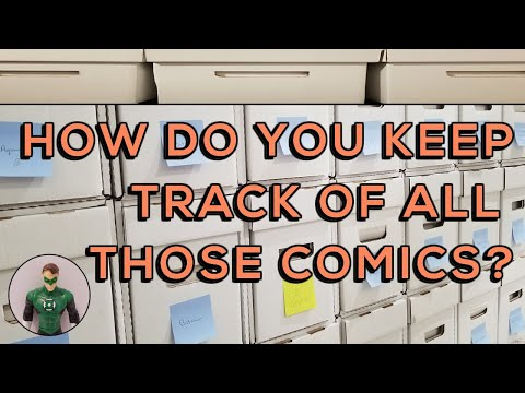 How To: Keep Track of Your Comic Books