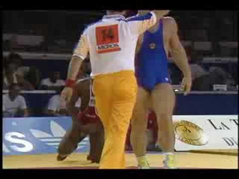 Alexander Karelin v Craig Pittman 1989 World Championships