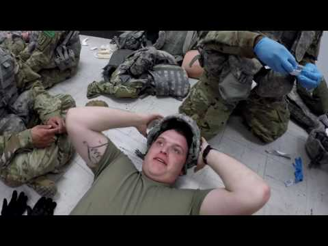 68W Combat Medic AIT: Delta Co 232 Team 1!(Triage, NPAs, And Just Having Fun)