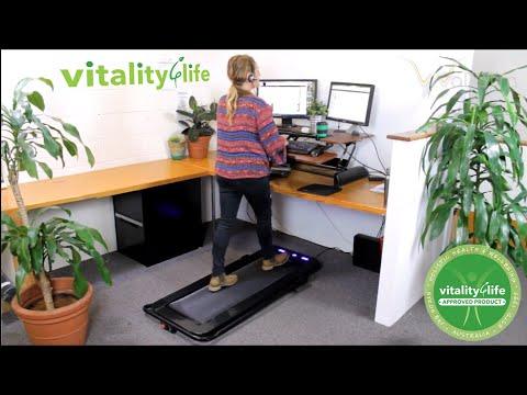 WalkSlim Personal Walking Treadmill - WalkStation - Walk at your desk!