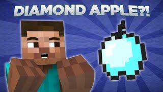 If Diamond Apples Were In Minecraft