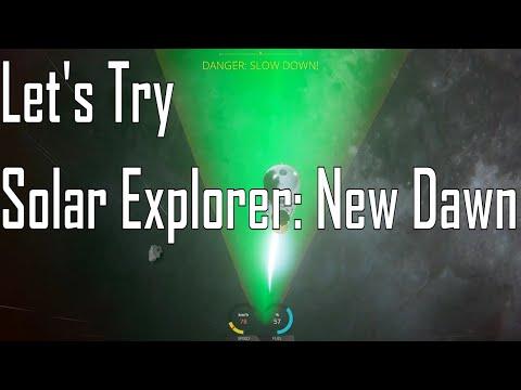 Solar Explorer: New Dawn - Lunar Hopefully Lander - Let's Try