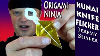 Origami Ninja Kunai Knife Flicker