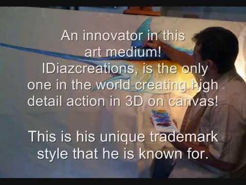 IDiazCreations 3D Sail Fish