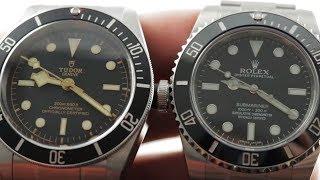 Rolex Submariner vs Tudor Black Bay (79230N) vs (114060 No Date Submariner)