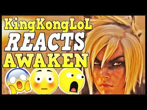 KingKongLoL REACTS to AWAKEN | League of Legends Cinematic Awaken - Season 2019 thumbnail