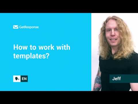 How to work with templates? | New Email Creator FAQ