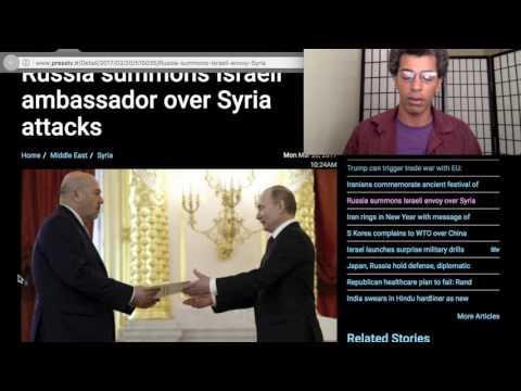 Russia Calls Israel's Ambassador over Syria Strike - News MAR 2017