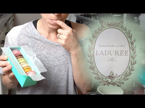 Taste Testing Ladurée Macarons - Are They Worth It? #stayhome And Be Entertained #withme