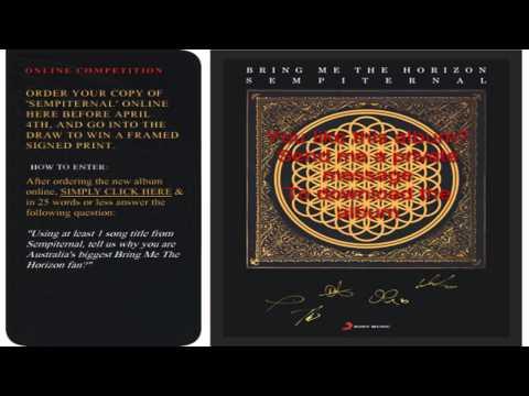 Bring Me The Horizon - Album Sempiternal Full (Download In The Description)