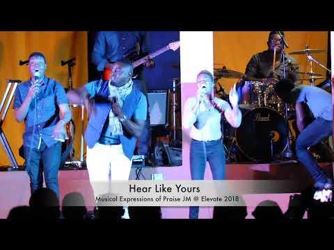 Jermaine  Edwards With Island Worship Band @ Elevate 2018