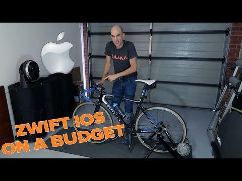 Zwift IOS on a Budget (iPhone/iPad) - YouTube