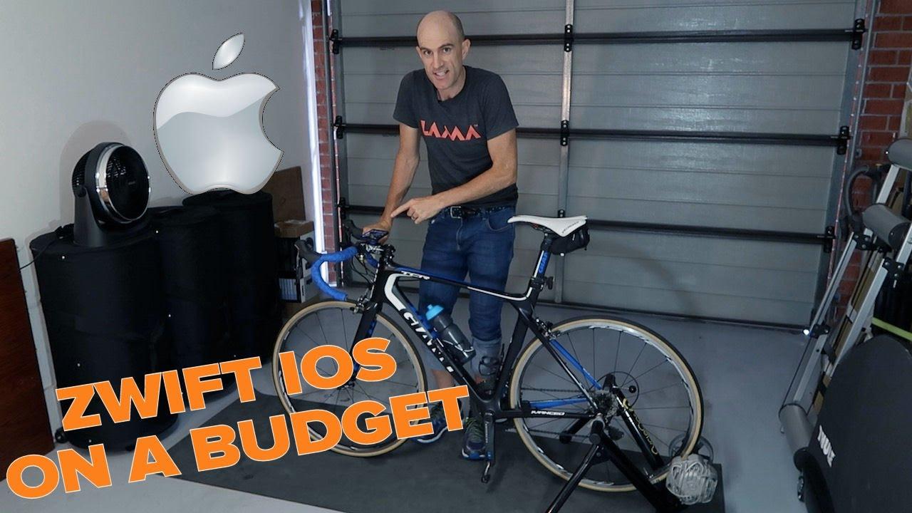Zwift IOS on a Budget (iPhone/iPad)