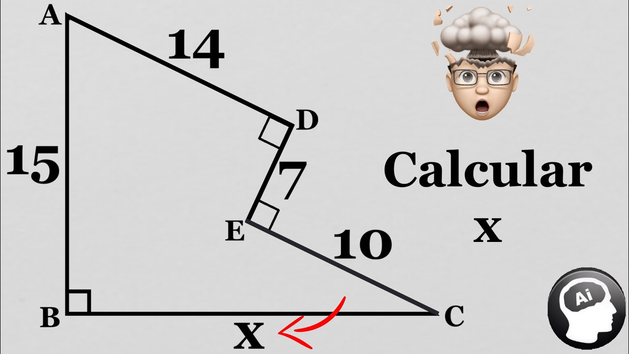 ¿Puedes resolver el siguiente problema geometrico de concurso?
