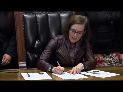 News Conference: Governor Kate Brown to Celebrate Women's History Month