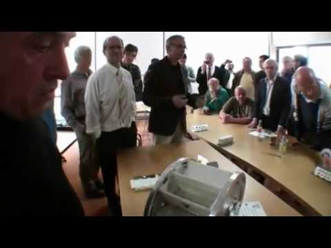 NO scam (it's a REAL DEAL)  Muammer Yildiz Magnet Motor demo at Delft University