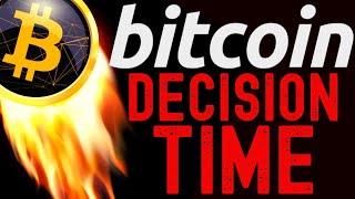 🔥 BITCOIN DECISION TIME- WHAT IS BTC DOING?🔥bitcoin ta price prediction, analysis, news, trading