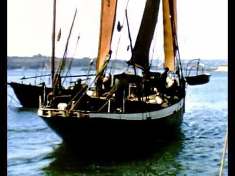 Bristol Channel Pilot Cutter 'Carlotta' 1965 - digitally enhanced