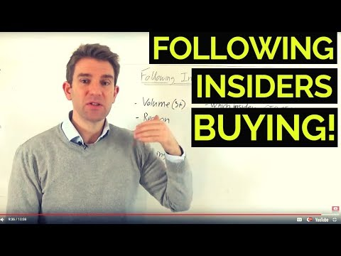 How to Profit from Insiders Trading/Directors Dealings 🙋🏽‍♂️