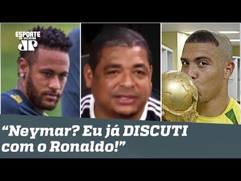 """Vampeta DÁ AULA e revela como lidaria com o """"MIMADO"""" Neymar!"""