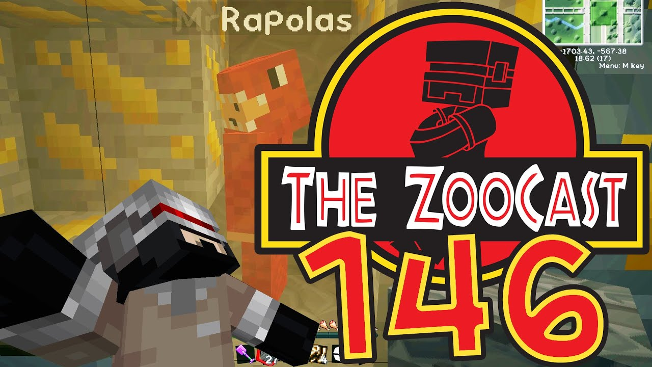 Minecraft Jurassic World (Jurassic Park) #146 Mr  Rapolas In Amber! [1080p  60fps]