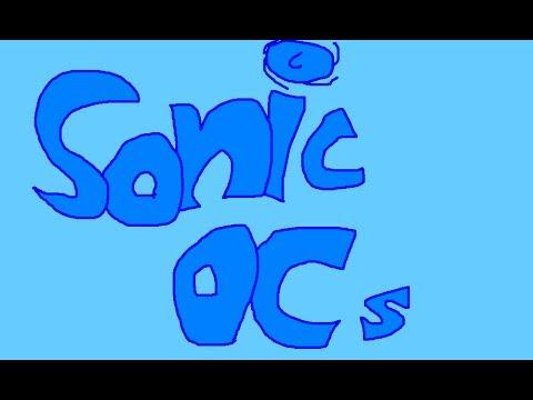 Sonic OC in MS Paint