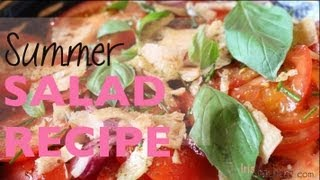 Food Tomato Basil Parmesan Recipe - Recette facile tomates basilic