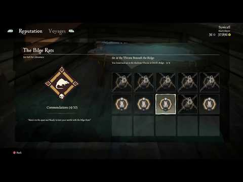 ALL SOLO THRONE LOCATIONS  SEA OF THIEVES