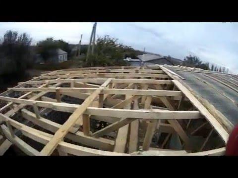 Крыша бани своими руками односкатная и двухскатная варианты