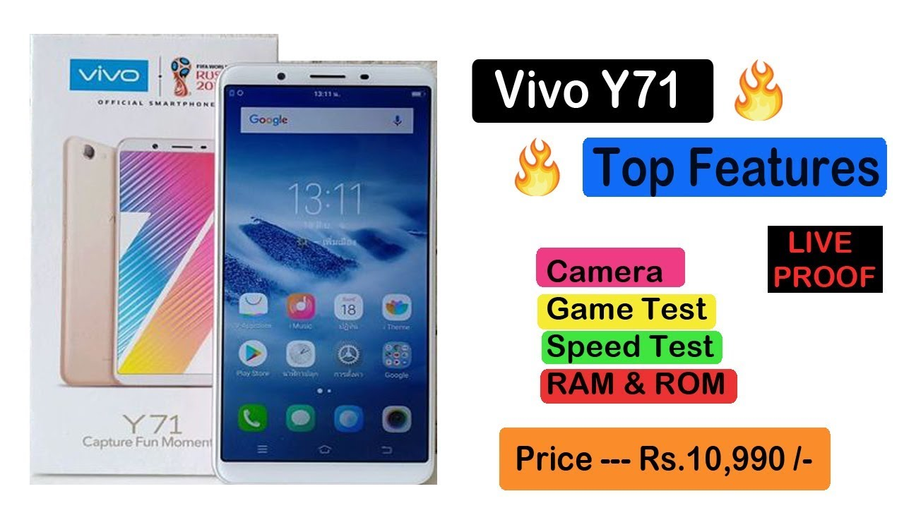ViVo Y71 Smartphone Unboxing | Features , Price And Review
