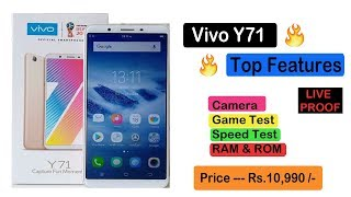 ViVo Y71 Smartphone Unboxing , Features , Price And Review By Being Technical