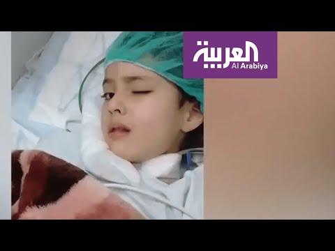 بعد معاناة شهر ونصف من ورم في المخ دون علاج بسبب تعنت الاحتلال.. وفاة الطفلة الغزية عائشة  - نشر قبل 9 ساعة
