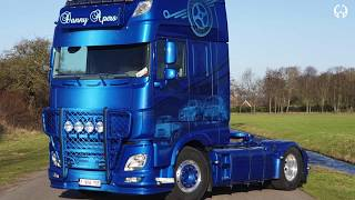 MW Designs - The making of... Danny Apers DAF XF106 Family Tradition airbrush