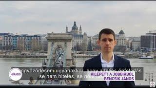 Kilépett a Jobbikból Bencsik János