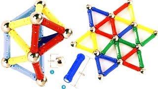 Игрушка для детей, магический магнитный конструктор | алиэкспресс обзор