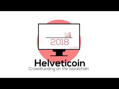 Helveticoin - Blockchain Based Crowdfunding
