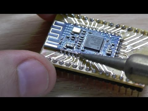 Bluetooth 4.0 (BLE) - 05: Soldering