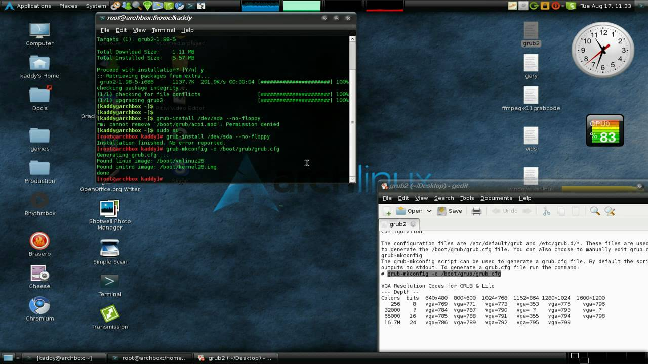 How To Install Grub2 Arch Linux Logos - riverfreedom2p