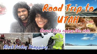 Travel Vlog | Road Trip to UTAH USA | Salt lake city | Black Friday Shopping  | Tamil Vlogs  DIML 25