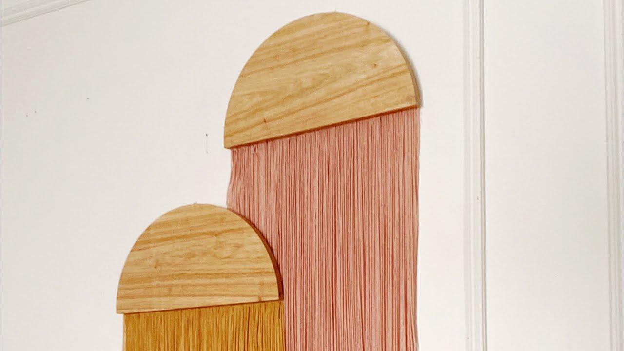 Tapices de lana y madera