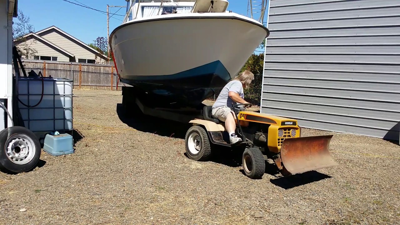 Does my 1977 Gilson (mini CAT) Garden Tractor have enough guts to ...