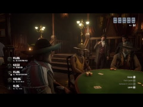 Red Dead Redemption 2 Online Poker Rage And Funny Moments