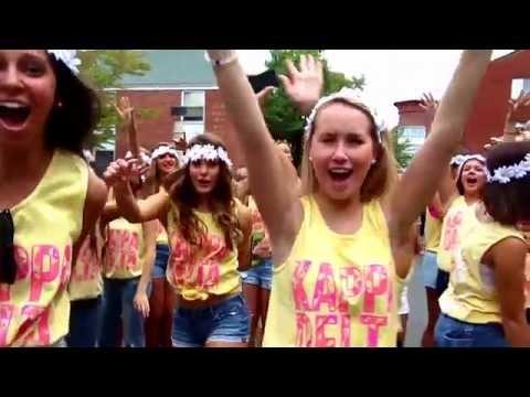 Kappa Delta Bid Day Quinnipiac University